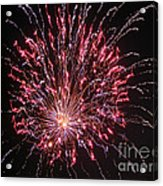 Fireworks For All Acrylic Print by Terry Weaver