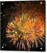 Fireworks IIi Acrylic Print by Tiffany Erdman