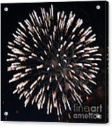 Fireworks Series X Acrylic Print by Suzanne Gaff