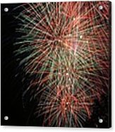 Fireworks6500 Acrylic Print by Gary Gingrich Galleries