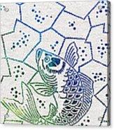 Fishing Net Acrylic Print by Aged Pixel