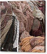 Fishnets Acrylic Print by Frank Tschakert