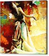 Flamenco Dancer 032 Acrylic Print by Catf