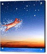 Flight To Sagittarius Acrylic Print by Kathleen Horner