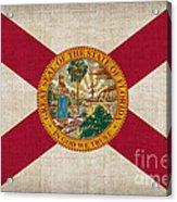 Florida State Flag Acrylic Print by Pixel Chimp