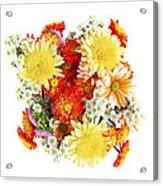 Flower Bouquet Acrylic Print by Elena Elisseeva