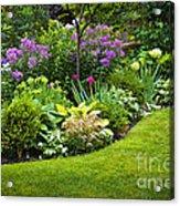 Flower Garden Acrylic Print by Elena Elisseeva