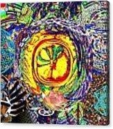 Flowering Shiva Acrylic Print by Jason Saunders