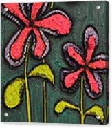 Flowers For Sydney Acrylic Print by Shawn Marlow