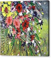Flowers Acrylic Print by Shilpi Singh