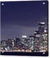 Fog City San Francisco2 Acrylic Print by Mike Reid