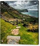 Follow The Path Acrylic Print by Adrian Evans