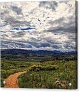 Follow The Path Acrylic Print by Tony Boyajian