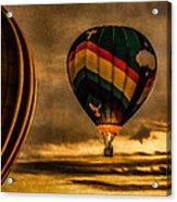 Following Amazing Grace Acrylic Print by Bob Orsillo