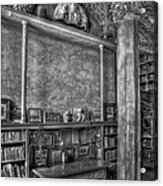 Fonthill Castle Library Acrylic Print by Susan Candelario