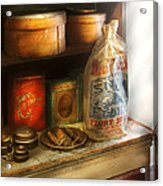 Food - Kitchen Ingredients Acrylic Print by Mike Savad