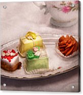 Food - Sweet - Cake - Grandma's Treats  Acrylic Print by Mike Savad