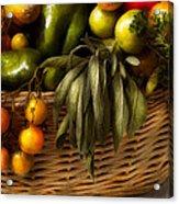 Food - Veggie - Sage Advice  Acrylic Print by Mike Savad