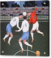 Football Acrylic Print by Jerzy Marek