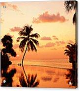 For You. Dream Comes True II. Maldives Acrylic Print by Jenny Rainbow