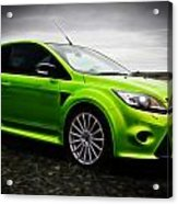 Ford Focus Rs Acrylic Print by motography aka Phil Clark