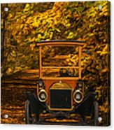 Ford Acrylic Print by Jack Zulli