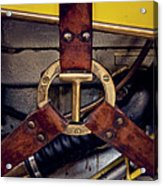 Ford T Hood Strap Acrylic Print by Odd Jeppesen