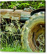 Fordson Major Diesel Two Acrylic Print by Robert J Andler