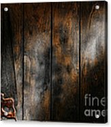 Forgotten Tool Acrylic Print by Olivier Le Queinec