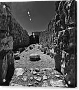 Fortress Of Masada Israel 2 Acrylic Print by Mark Fuller