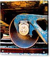 Foundation 2 Acrylic Print by Wendy J St Christopher