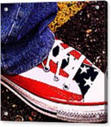 Fourth Of July Connies Acrylic Print by Ron Regalado