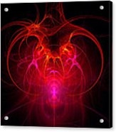 Fractal - Science - The Neural Network Acrylic Print by Mike Savad