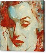 Fragile Acrylic Print by Paul Lovering