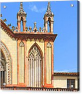 Franciscan Monastery In Nice France Acrylic Print by Ben and Raisa Gertsberg
