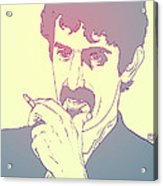 Frank Zappa Acrylic Print by Giuseppe Cristiano