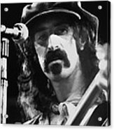 Frank Zappa - Watercolor Acrylic Print by Joann Vitali