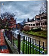 Franklin Park Acrylic Print by Everet Regal