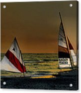 Free Spirits Acrylic Print by William Griffin