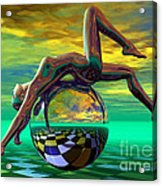 Freedom Of Expression Acrylic Print by Sandra Bauser Digital Art