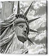 Freedom Acrylic Print by Sarah Batalka