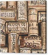 French Corks Acrylic Print by Debbie DeWitt