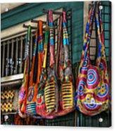 French Market Bags Acrylic Print by Brenda Bryant
