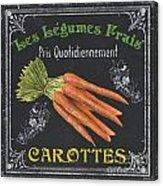 French Vegetables 4 Acrylic Print by Debbie DeWitt
