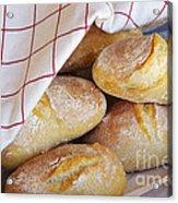 Fresh Bread Acrylic Print by Carlos Caetano