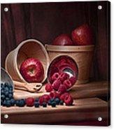Fresh Fruits Still Life Acrylic Print by Tom Mc Nemar