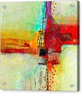 Fresh Paint #2 Acrylic Print by Jane Davies