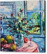 Fresh Spring Acrylic Print by Leonard Holland