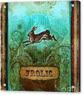 Frolic Acrylic Print by Aimee Stewart