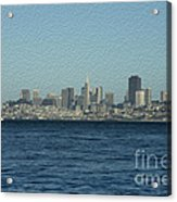 From Sausalito Acrylic Print by David Bearden